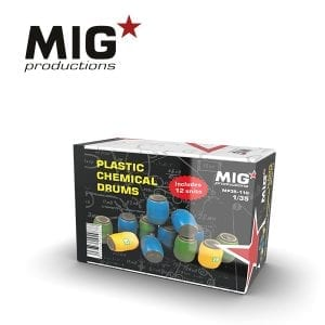 MP35-110 plastic chemical drums
