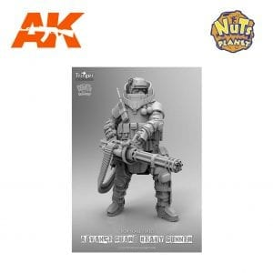 NP T72021 Advance Guard Heavy Gunner ak-interactive nuts planet