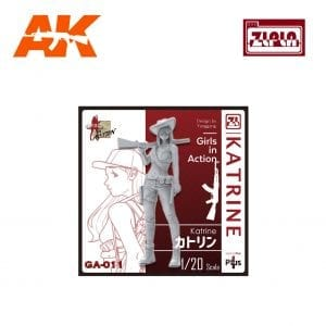 ZL GA-011 Katrine GIRLS IN ACTION Series 1/20