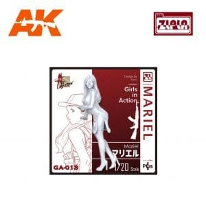 ZL GA-013 Mariel GIRLS IN ACTION Series 1/20