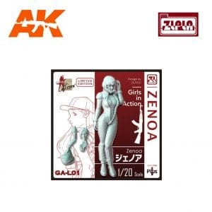 ZL GA-L01 Zenoa GIRLS IN ACTION Series 1/20