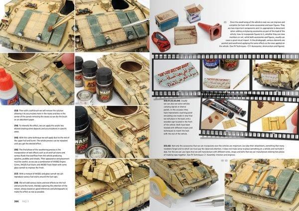 AK288 FAQ3 AFV ENGLISH SPANISH SCALE MODELLING BOOK AK-INTERACTIVE modern