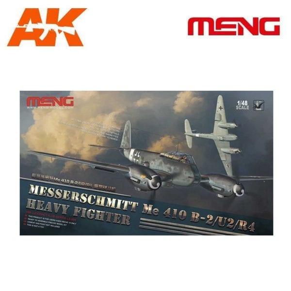 MM LS-004 1/48 MESSERSCHMITT Me 410B-2/U2/R4 HEAVY FIGHTER AK-INTERACTIVE MENG