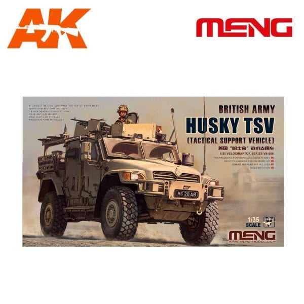 MM VS-009 meng ak-intarective British Army Husky TSV (Tactical Support Vehicle)