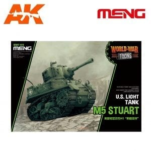 MM-WWT-012 ak-interactive U.S. Light Tank M5 Stuart