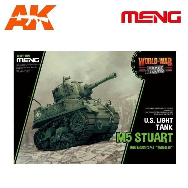 MM-WWT-012 ak-interactive U.S. Light Tank M5 Stuart