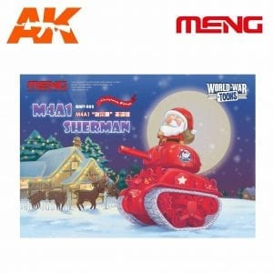 MM-WWV-002 ak-interactive M4A1 Sherman Christmas Edition