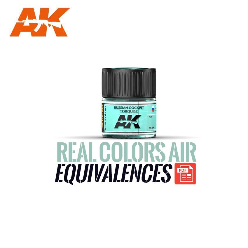 real colors equivalences air ak-interactive