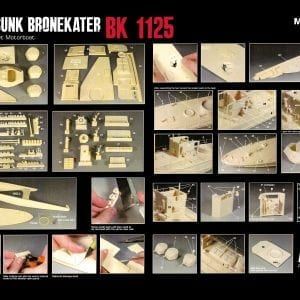 bronekater half sunk migproductions bk 1125 warship resin akinteractive limited edition scale 1/35