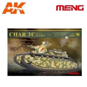MM TS-009 AK-INTERACTIVE MENG CHAR 2C FRENCH HEAVY TANK