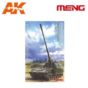 MM TS-012 AK-INTERACTIVE MENG PANZERHAUBITZE 2000 GERMAN SELF-PROPELLED HOWITZER