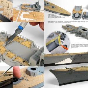 AK249 MODELLING FULL AHEAD BISMARCK TIRPITZ SCALE 1/350 WARSHIP NAVAL AK-INTERACTIVE