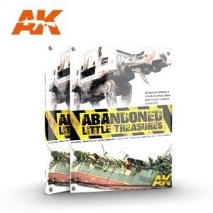 AK287 LITTLE TREASURES ABANDONED BOOK AK-INTERACTIVE ENGLISH