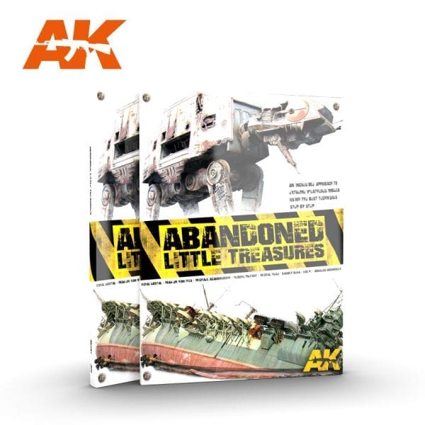 AK287 LITTLE TREASURES ABANDONED BOOK AK-INTERACTIVE ENGLISH