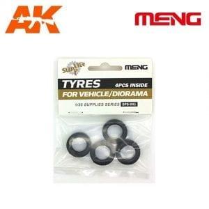 MM SPS-001 ak-interactive meng wheels pack diorama vehicle