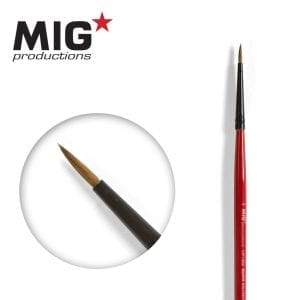 MP1009 5-0 round brush marta kolinsky migprodutions ak-interactive