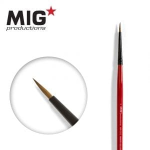 MP1010 4-0 round brush marta kolinsky migprodutions ak-interactive