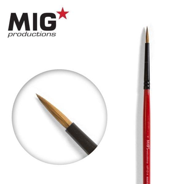 MP1014 1 round brush marta kolinsky migprodutions ak-interactive