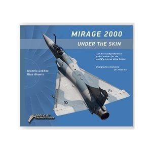 mirage 2000 under the skin eagle aviation publication book english ak-interactive
