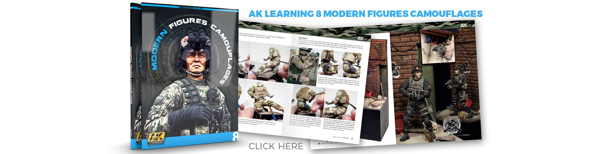 AK-LEARNING8 AK-INTERACTIVE FIGURES CAMOUFLAGES MODERN