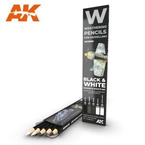 AK10039 weathering pencils