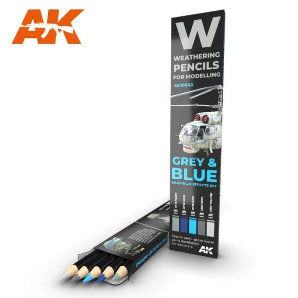 AK10043 weathering pencils