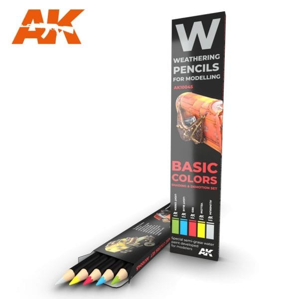 AK10045 weathering pencils