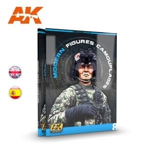AK247 ak learning 8 camouflages modern figures