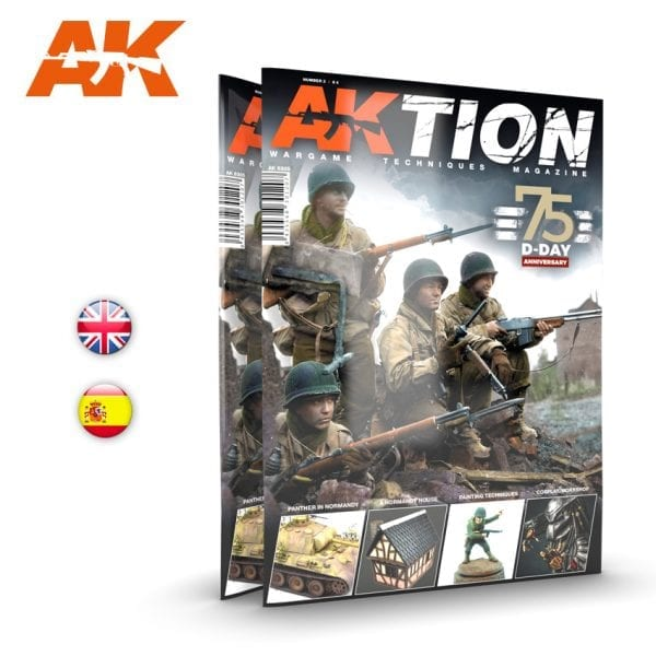 AK6305 AKTION AK-INTERACTIVE ISSUE 3 D-DAY ANNIVERSARY