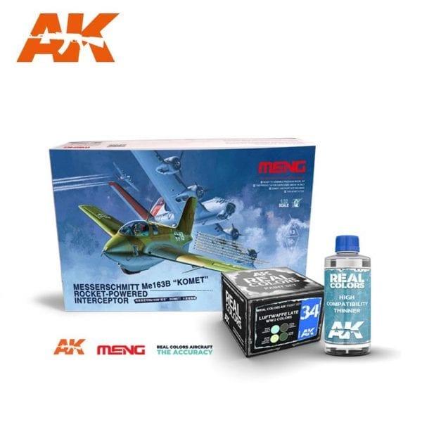 ak-interactive meng real colors set thiner promo pack