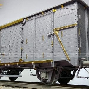 35A01 sabre akinteractive railway train wagon german model plastic scale