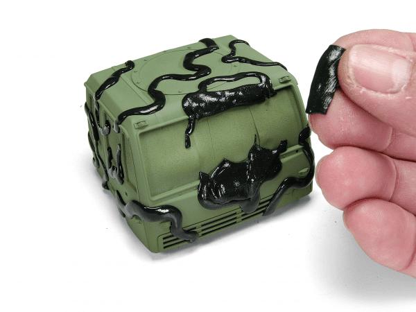 masking putty plastic camo