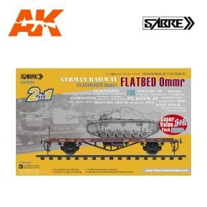 35A03-SVP sabre akinteractive model railway train wagen wagon model plastic scale value pack