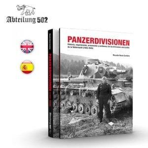 ABT718 panzerdivisiones english spanish abteilung502 book german