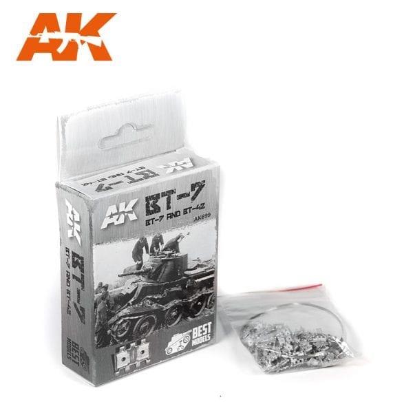AK699 akinteractive metal tracks