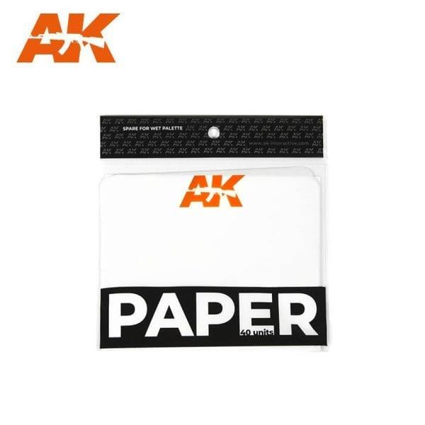 AK8074 paper wet paletter