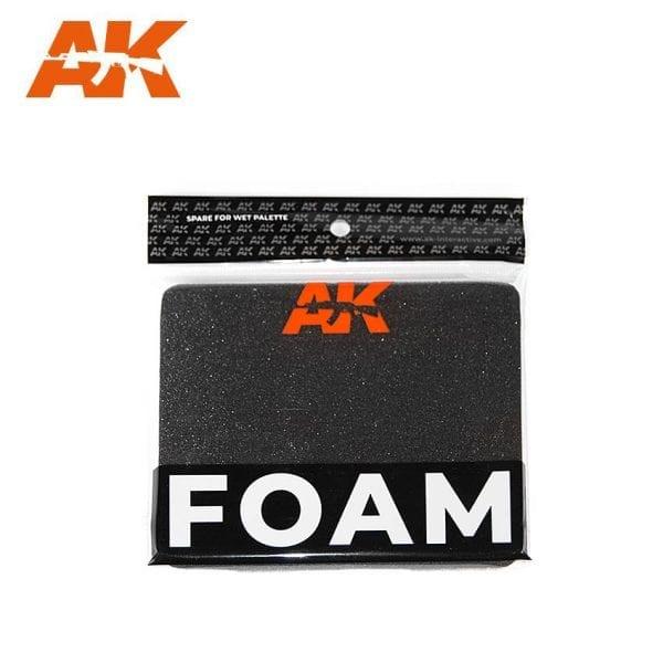 AK8075 FOAM WET PALETTE AKINTERACTIVE
