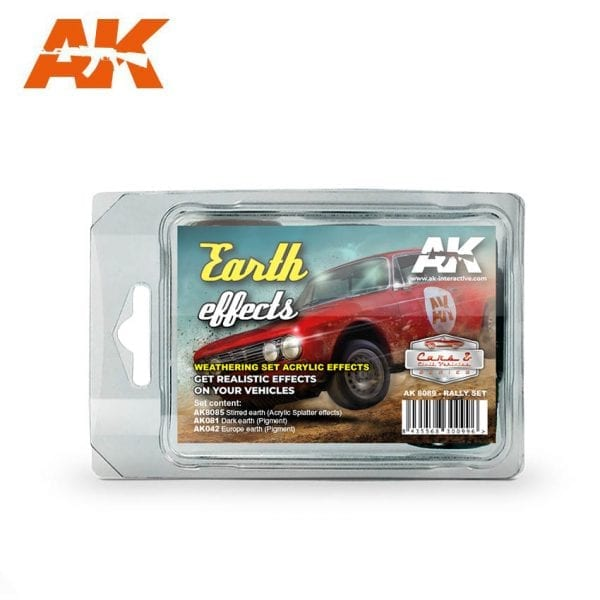 AK8089 earth effects rally set acrylic akinteractive