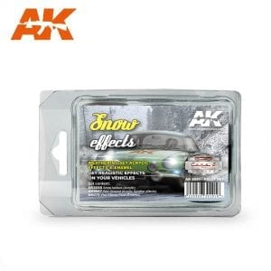 AK8091 akinteractive snow effects rally race acrylic weathering effects pigment