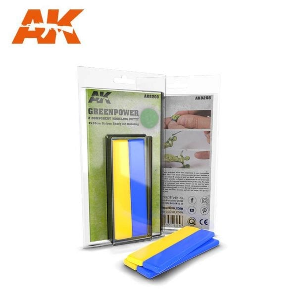 AK8208 GREENPOWER AKINTERACTIVE PUTTY EPOXY FIGURES