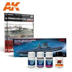 AKPACK12 akinteractive meng weathering model navy