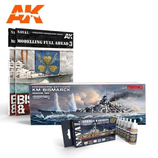 AKPACK13 akinteractive meng paint acrylic model navy