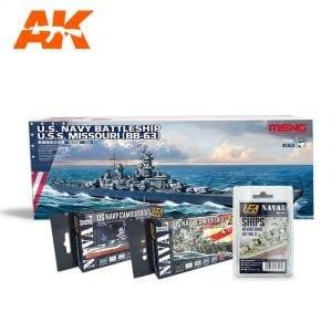AKPACK14 akinteractive meng paint acrylic model navy