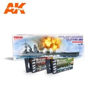 AKPACK15 akinteractive meng paint acrylic model navy