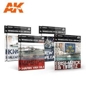 AKPACK16 akinteractive meng paint acrylic model navy