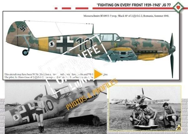 SPECIAL LUGA 2 JG77 luftwaffe gallery ak-interactive