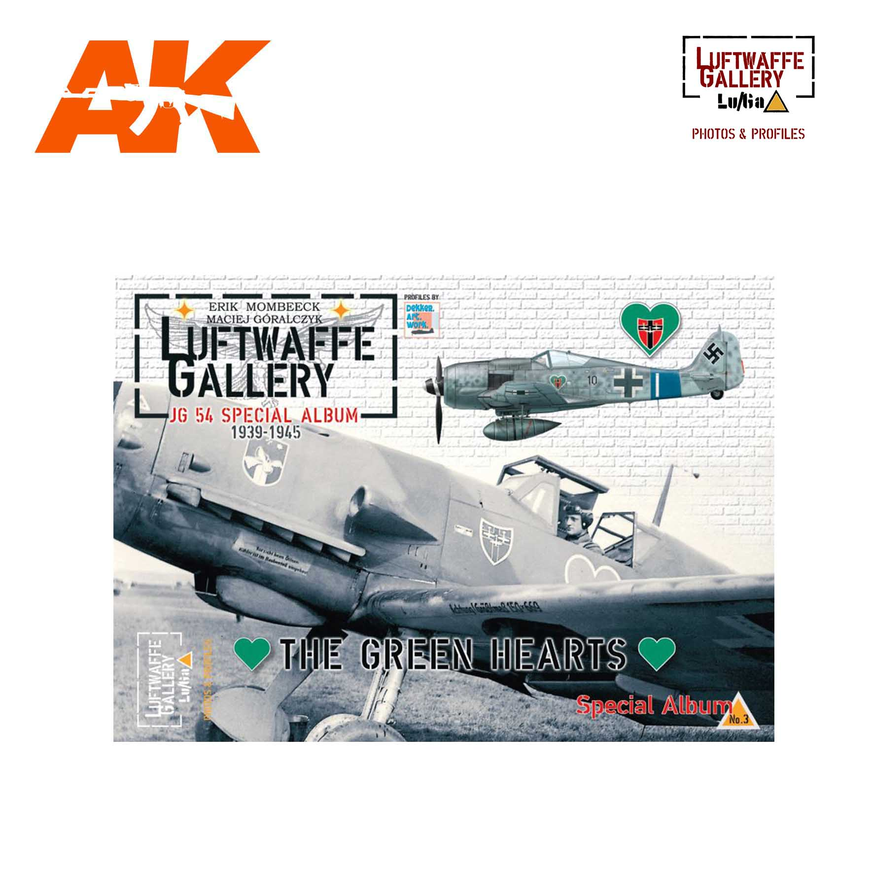 SPECIAL Luftwaffe Gallery 3 - JG 54 'The Green Hearts' - AK