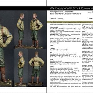 Scale model handbook figure modelling 24