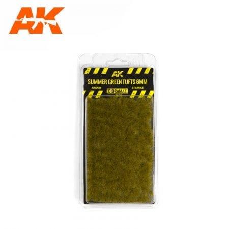 AK8120 akinteractive diorama SUMMER GREEN TUFTS 2mm