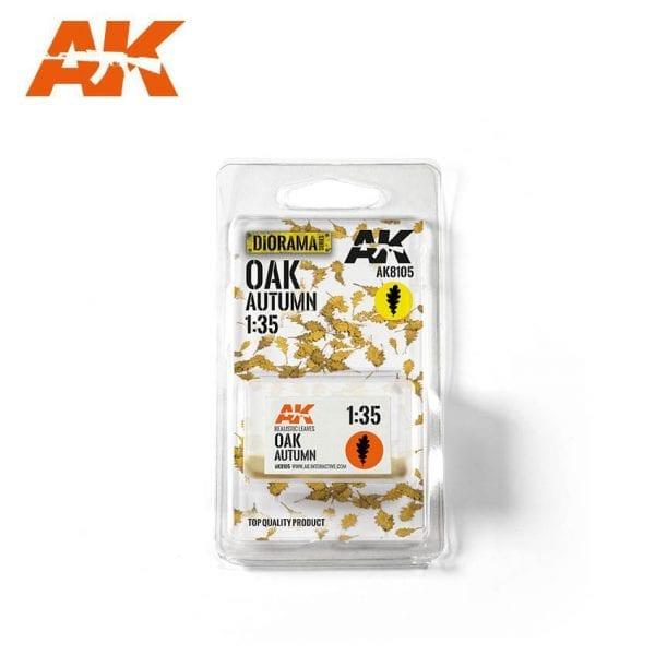 AK8105 oak autumn akinteractive vegetation diorama
